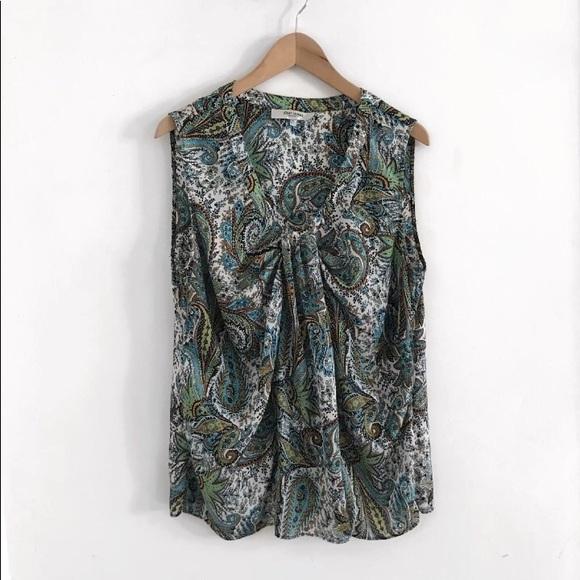 Jones Studio Tops - Jones studio Sleeveless Top Blouse Shirt Size XL